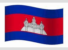 Animated flag of Cambodia JANCOK