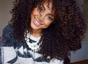 thick long curly hair | Curly weave for black women ...
