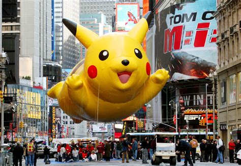 hong kong pikachu fans march  protest   change sbs popasia