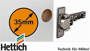 Hettich Topfscharnier 35mm : di metro de cazoleta para bisagras ocultas para diy youtube ~ Orissabook.com Haus und Dekorationen