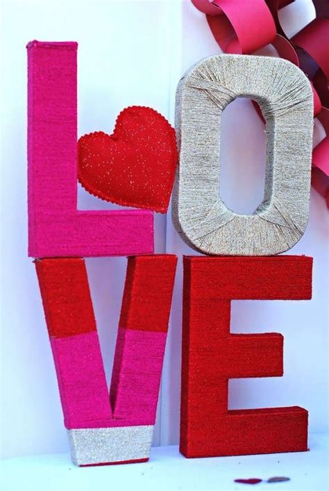 ways  decorate  party  cardboard letters catch  party