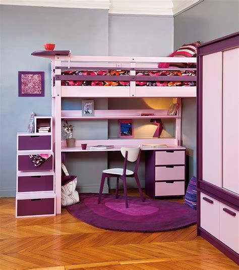 lit mezzanine 2 places avec bureau lits mezzanines urbaine