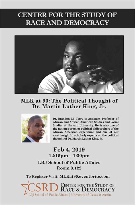 MLK at 90: The Political Thought of Dr. Martin Luther King ...