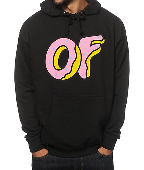 gallery for gt odd future donut hoodie black