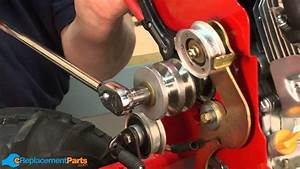 How To Replace The Engine Pulley On A Troy