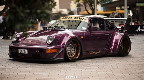 stanced porsche 964 august rauh welt 964 carrera