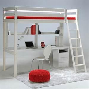 Lit Mezzanine Ado : le lit mezzanine ou le lit superspos quelle variante choisir ~ Teatrodelosmanantiales.com Idées de Décoration