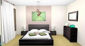 Deco Chambre Zen : chambre adulte papier peint avec abstract art photography ~ Melissatoandfro.com Idées de Décoration