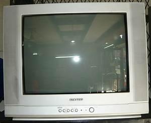 Samsung 21 U0026quot  Flat Crt Color Tv