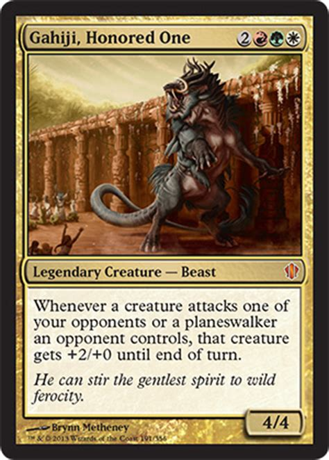 new to mtg edh gahiji beast tribal multiplayer commander decklists commander edh the