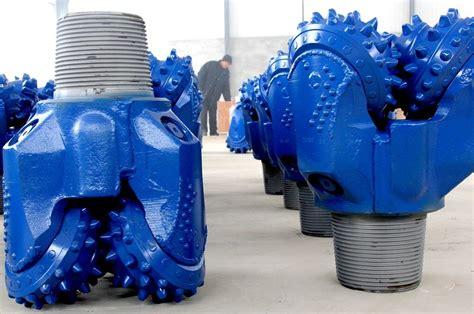 water  drilling news blue durable tci tricone drill bit rock cone drill bits