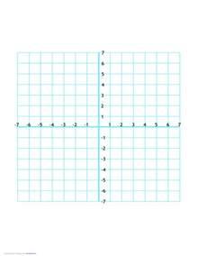 4 Quadrant Coordinate Graph Paper Printable