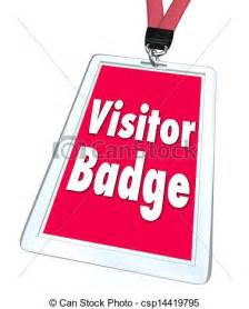 Visitor Badge Clip Art