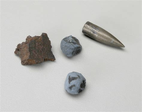 Artillery and Grenades - Shell Shrapnel Fragments and ...