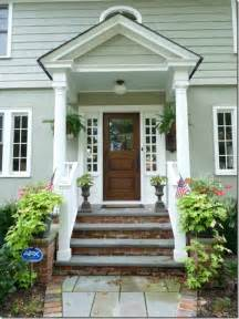 Beautiful Front Portico Plans feature friday eclectically vintage southern hospitality