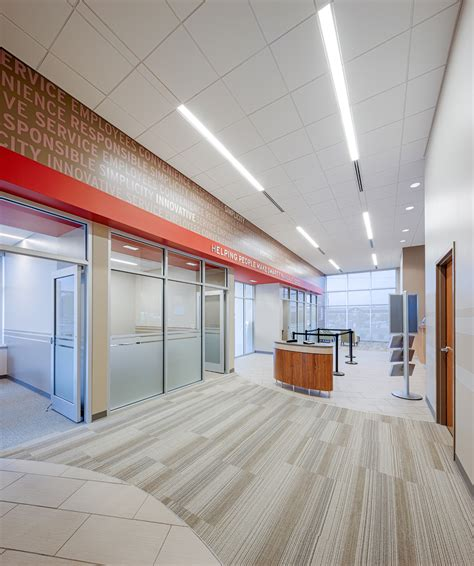 interior federal credit union allegacy federal credit union new prototype design