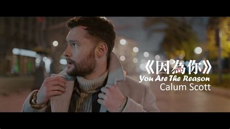 You Are The Reason 因為你 (中文字幕mv) Chords