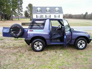 1996 Geo Tracker - Information And Photos