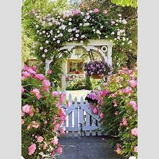 Front Gate Victorian Cottage Style  Extraordinary Gates