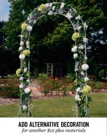 indoor wedding arch wedding rentals