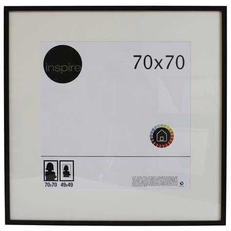 cadre lario 70 x 70 cm noir noir n 176 0 leroy merlin
