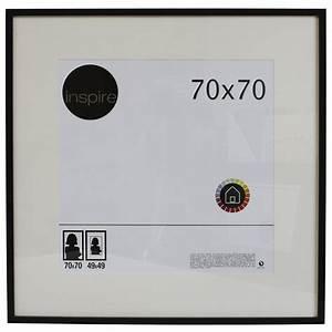 Cadre 70 X 100 : cadre lario 70 x 70 cm noir noir n 0 leroy merlin ~ Dailycaller-alerts.com Idées de Décoration