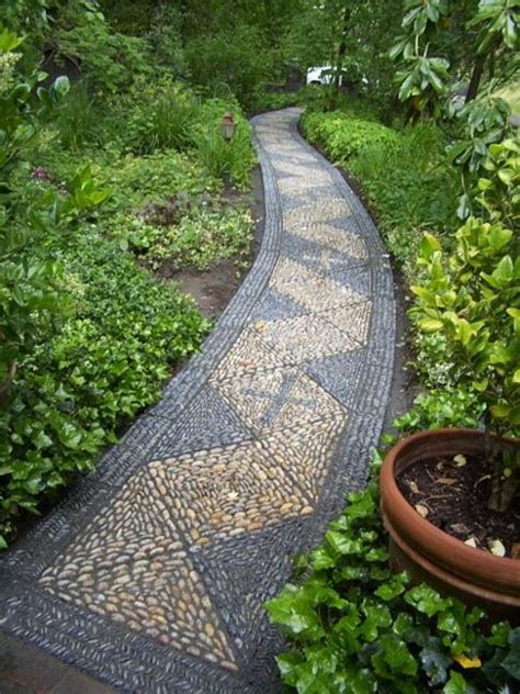 garden pathway designs beautiful garden path designs and ideas for yard landscaping with stone pebbles