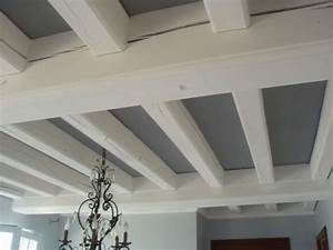 Deco salon peinture poutre plafond listspiritcom for Idee deco plafond poutre