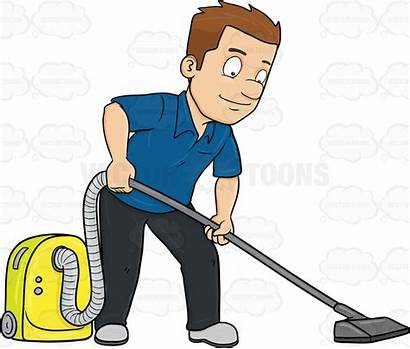 Clipart Cleaner Vacuum Cleaning Floor Clean Cartoon