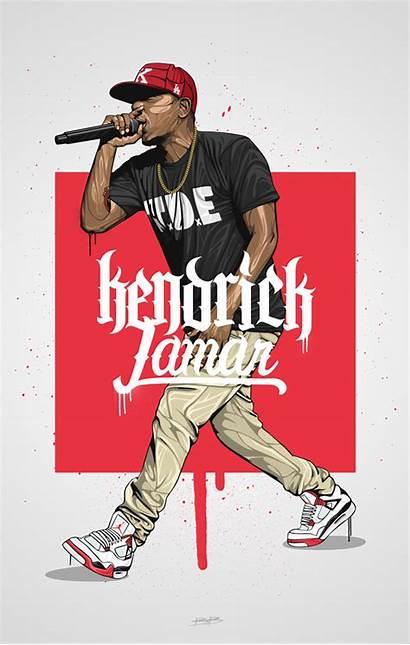 Kendrick Lamar Rapper Dope Drawings Favorite Hop