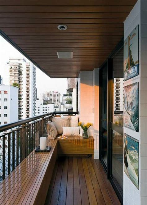 awesome ideas  decorating  small balcony porches