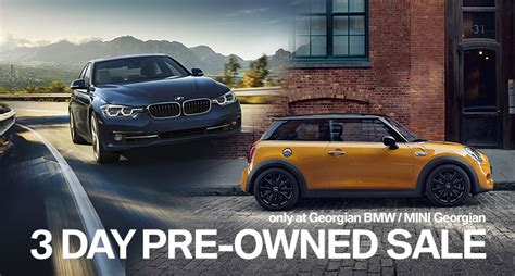 spring clearout pre owned sale georgian bmw