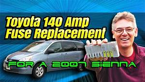 2005 Toyota Sienna Fuse Box Location