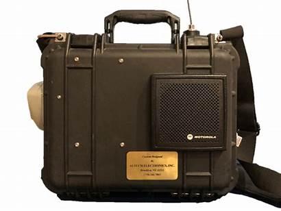 Radio Command Way Portable Center Radios Fire