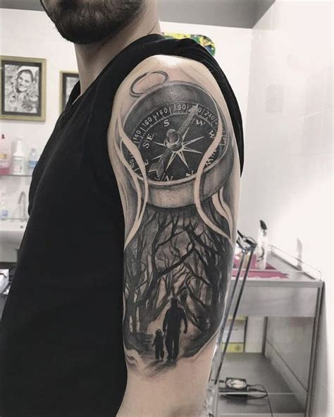 compass tattoo designs ideas  meanings august