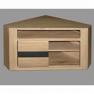 Meuble Tv Suspendu Conforama : meuble d 39 angle t l oslo n 2 meubles de normandie ~ Dailycaller-alerts.com Idées de Décoration