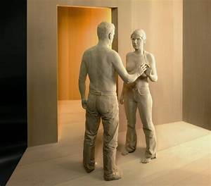 Realistic Life-like wood sculptures of people by Peter ...