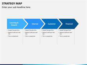 Excel Template Business Plan Strategy Map Powerpoint Template Sketchbubble