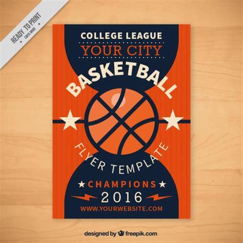 basketball flyer template free basketball flyer template vector free