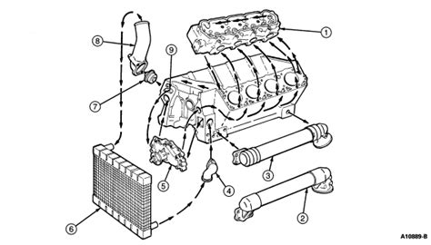 service manual  ford ranger thermostat replace