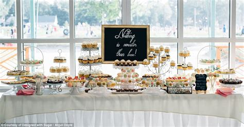 becoming an event planner new wedding trend sees brides and grooms skipping cakes in