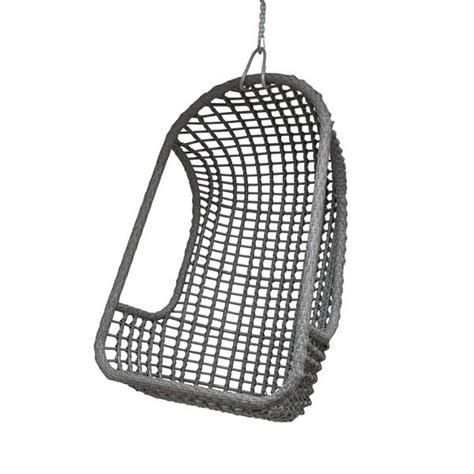 hang lounge stoel hk living outdoor hanging chair grey living and co
