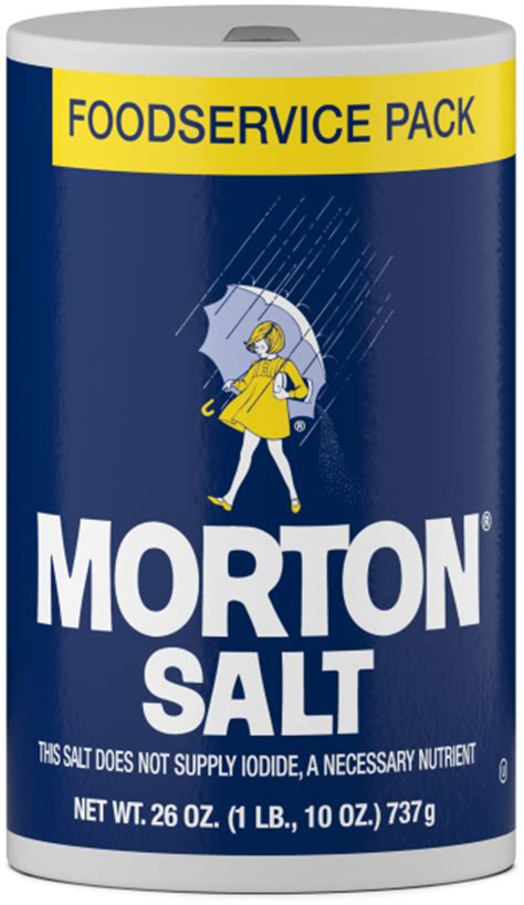 table salt to kosher salt conversion food service archives morton salt