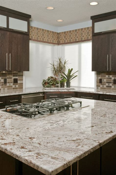 white springs leathered granite kitchen traditional with