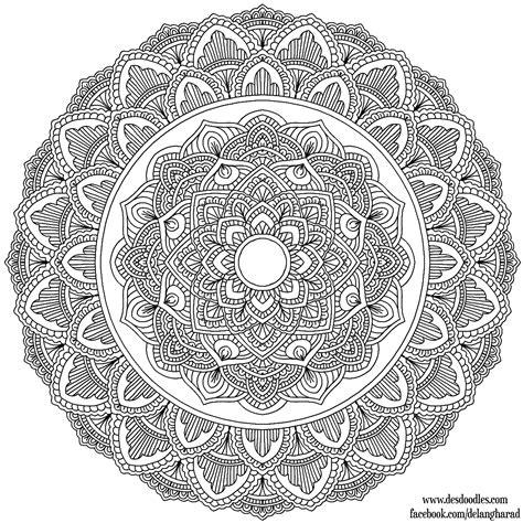 Coloring Krita by Krita Mandala 36 By Welshpixie On Deviantart