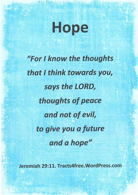 hope christian poster