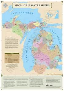 Lake Michigan Watershed Map