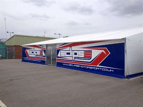 Bespoke & Customised Motorsport Awnings