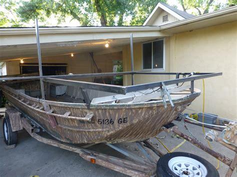 Bowfishing Boat Railing by Bowfishing Boat Build Thin Air Outdoors