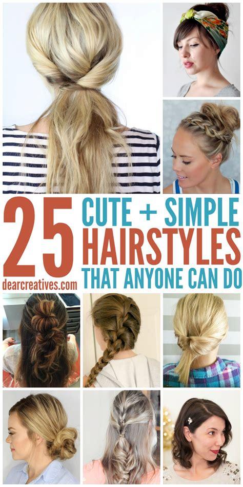 hairstyles simple hairstyles  long hair